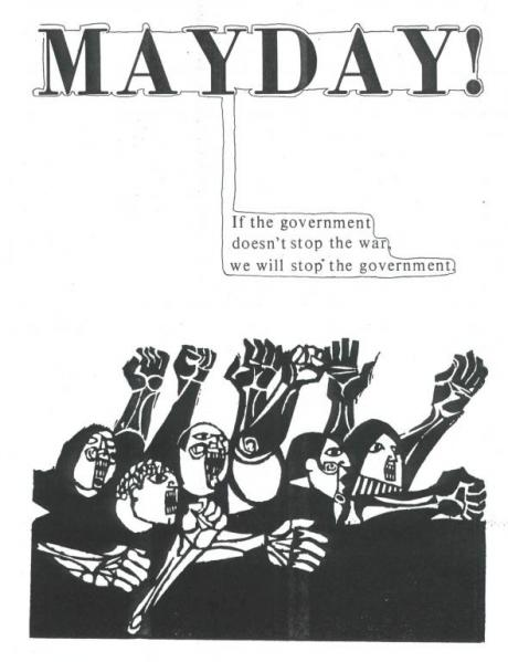 Slogan of the May Day protests