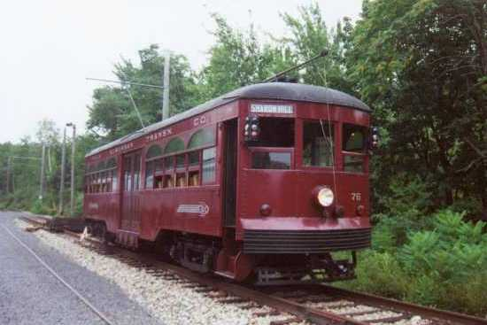 Operating Excursion Trolley #76