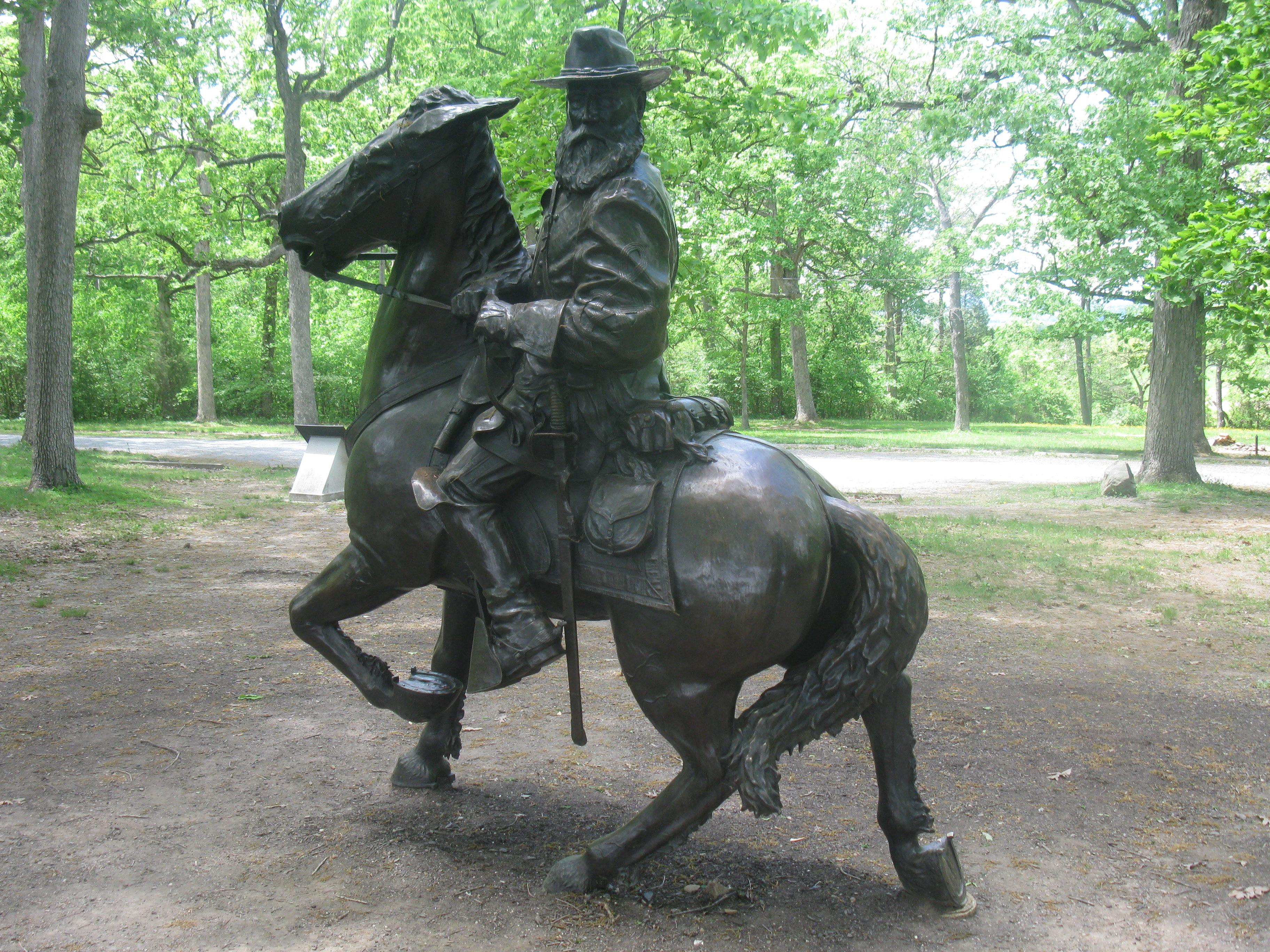 General James Longstreet Memorial