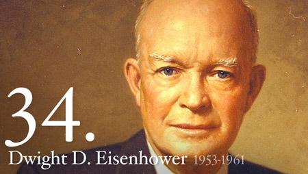 Image of Eisenhower.