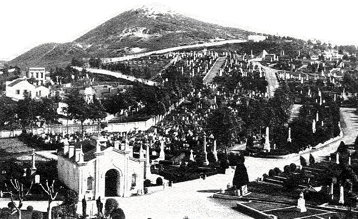 Laurel Hill Cemetery during the 1890s [foundsf.org]