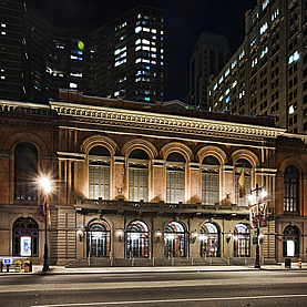 Opened in 1857, the Academy is the oldest grand opera house in the United States still used for its original purpose.