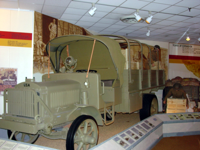The liberty Truck as was used during World War I