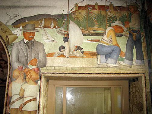 Labaudt painted fellow muralist Swiss-Italian Gottardo Piazzoni