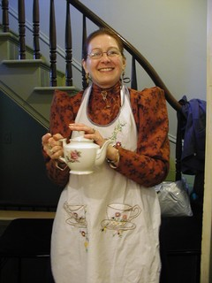 Part of the Annual Harvest Tea at Acorn Hall