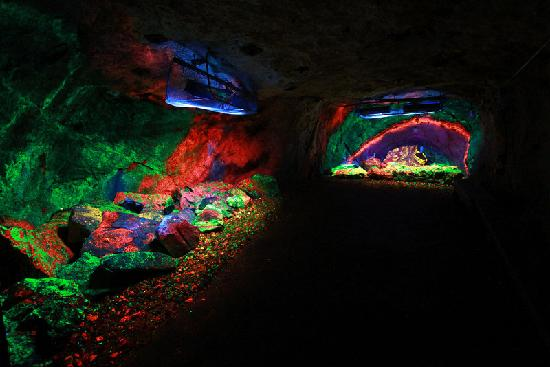 Part of the World Famous Rainbow Tunnel