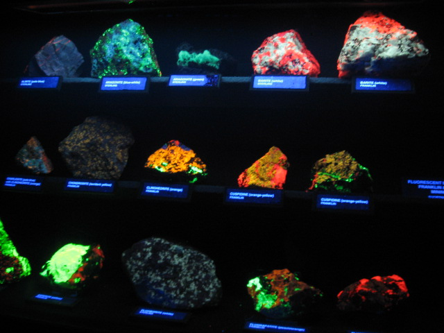 Fluorescent Minerals at the Museum