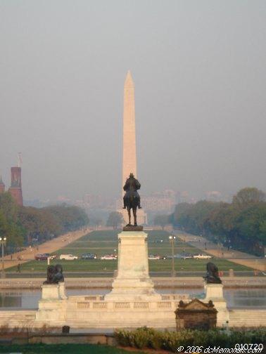 The Ulysses S. Grant Memorial in Washington D.C.