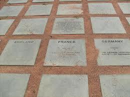 Granite Stones in Battlefield Park