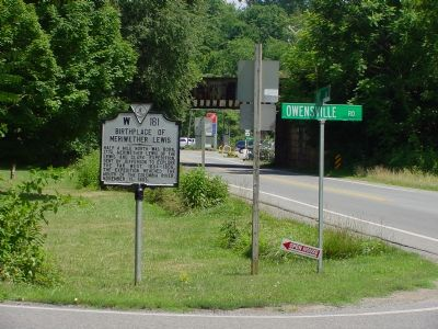 Another look at the roadside marker