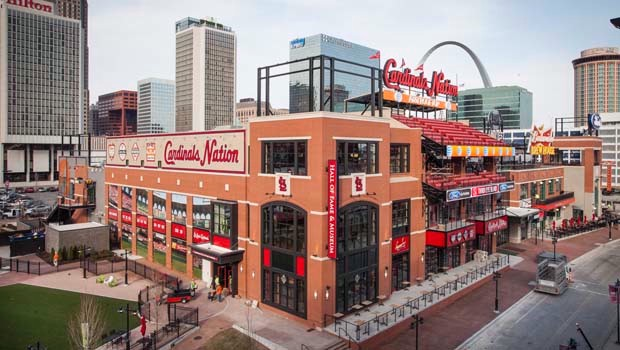 The first phase of Ballpark Village is anchored by a first-of-its-kind 34,000 square foot venue on four levels called Cardinals Nation. Spectacular game views and an all-inclusive experience unlike anything in baseball today.