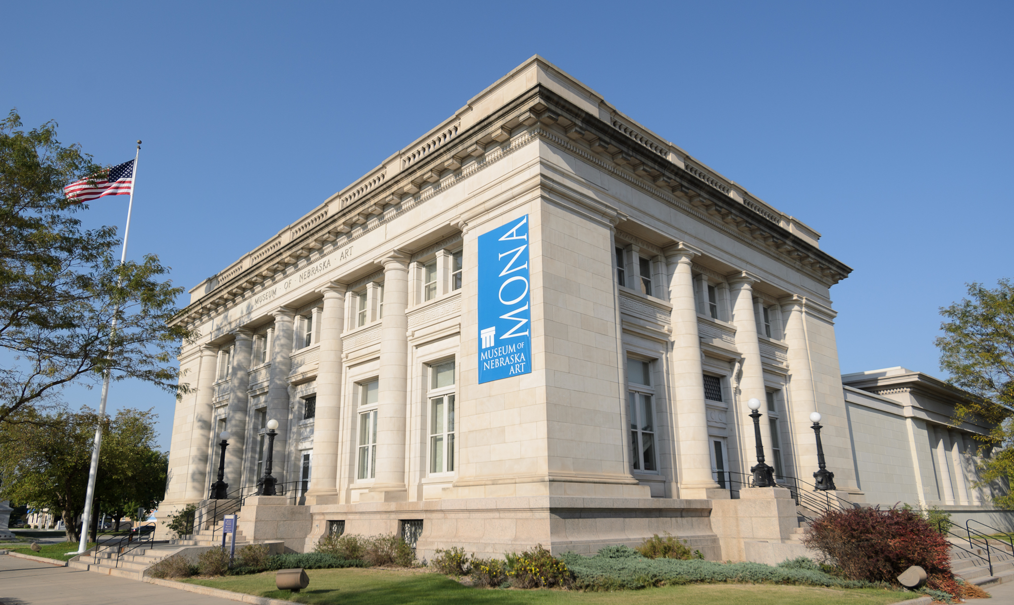 Located in Kearney, this museum holds the state of Nebraska's official art collection.