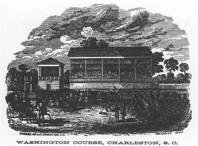 Washington Race Course existed from 1792 to 1882. Today, the area is known as Hampton Park-named in honor of Confederate General Wade Hampton.
