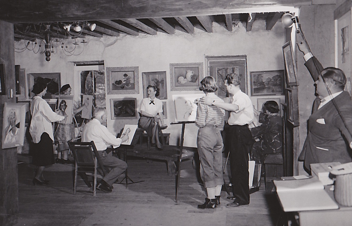 Founders of the Hunterdon Art Museum