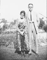 A picture of Sadie and her husband  . They had met during college and later became one of the earliest husband and wife legal teams.