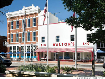 Walmart began at this Walton's 5&10 variety store that Sam Walton opened in 1950.