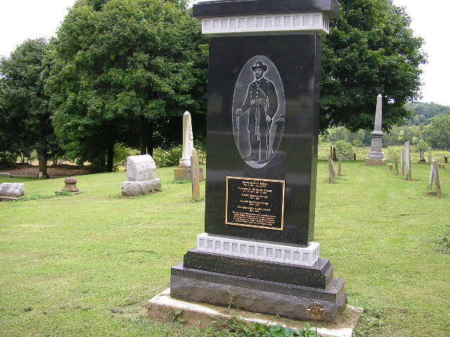 Martin Delany Headstone in OH (modern)