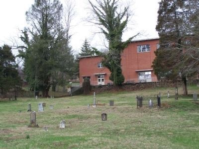 Section of old African-American cemetery in Lewisburg. Photo is of section near Dick Pointer Monument.