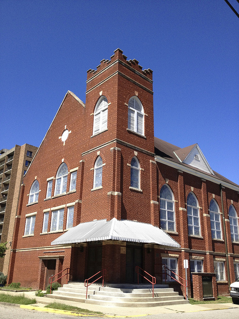 St. Paul Baptist as it stands today