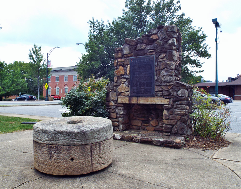 The Hickory Tavern Monument