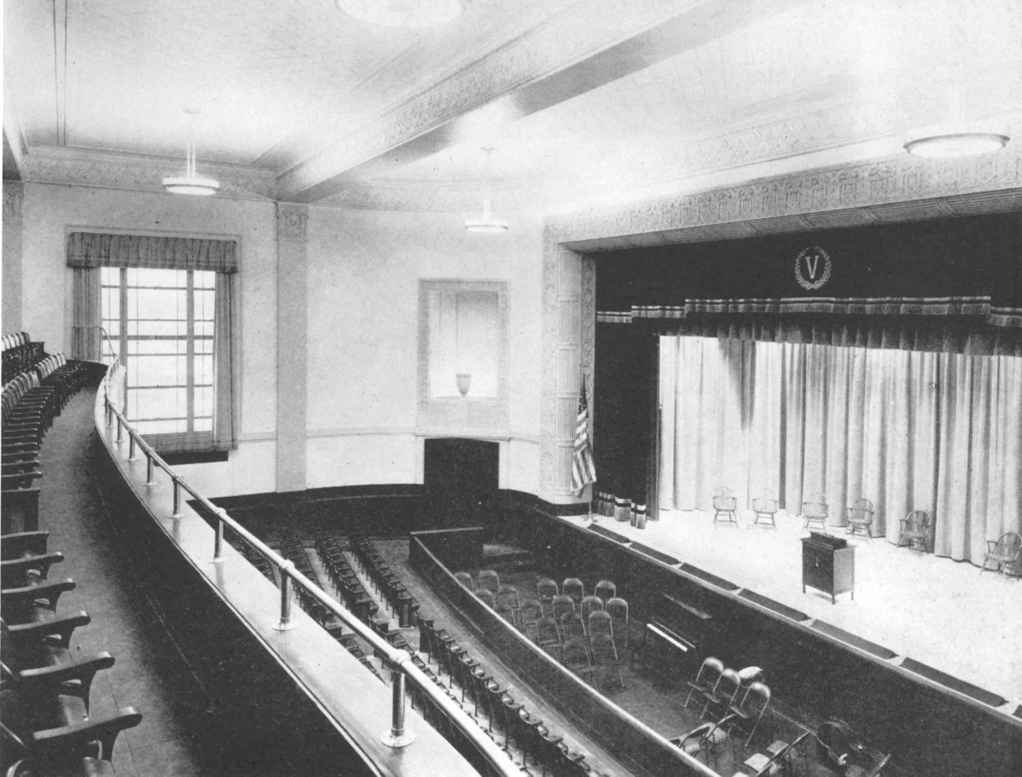 Auditorium from Dedication Booklet