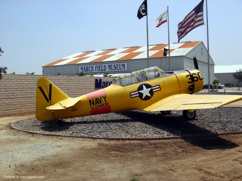 One of the 70 planes on display at the museum
