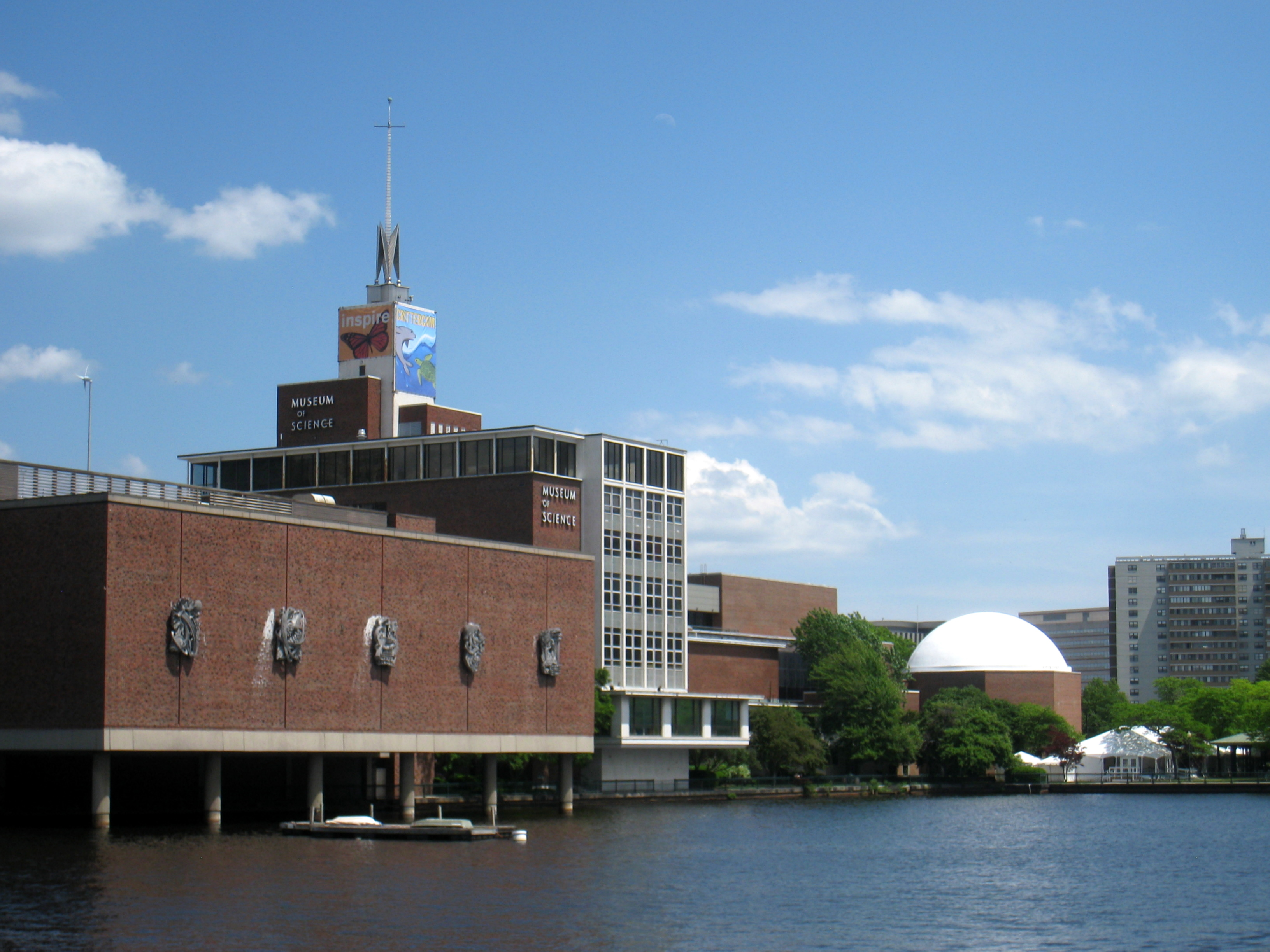 The museum's building dates back to the 1950s, while Boston's efforts to create exhibits related to science predates the Civil War.