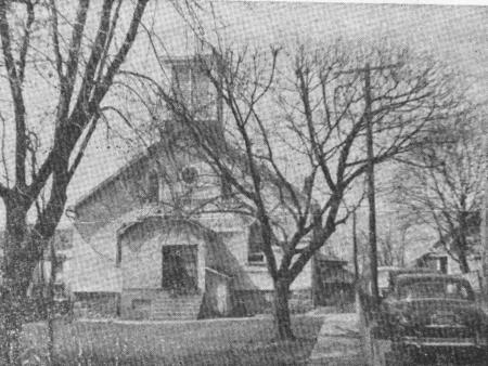 undated black and white photo of St. Philips. Courtesy of JCBHPS