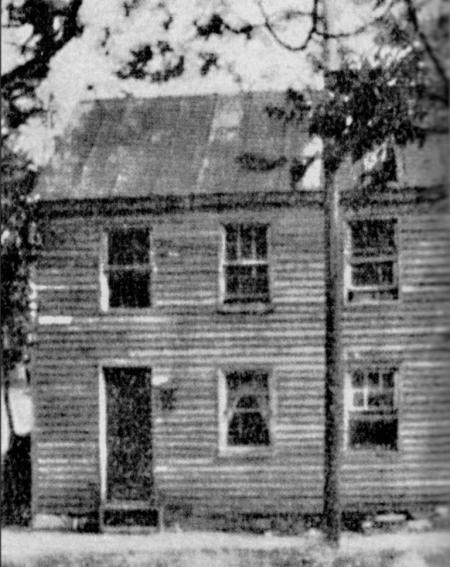 Undated black and white photo of the Achilles Dixon School. Courtesy of the JCBHPS
