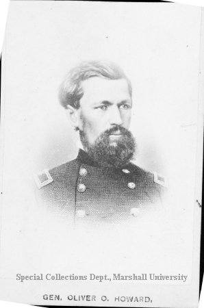 Gen. Oliver Otis Howard. 1865. Namesake of university and second president of school. Photo Courtesy of Marshall University Special Collections.