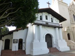 Mission San Francisco de Asis (Mission Dolores) today.