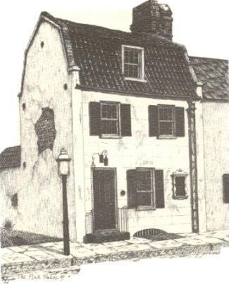 Pink House Gallery Historical Rendering