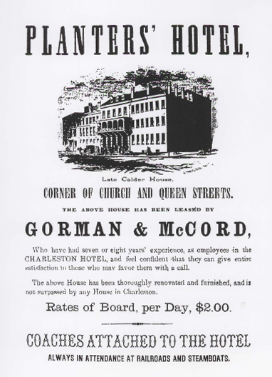 Historical Poster, Planters Hotel
