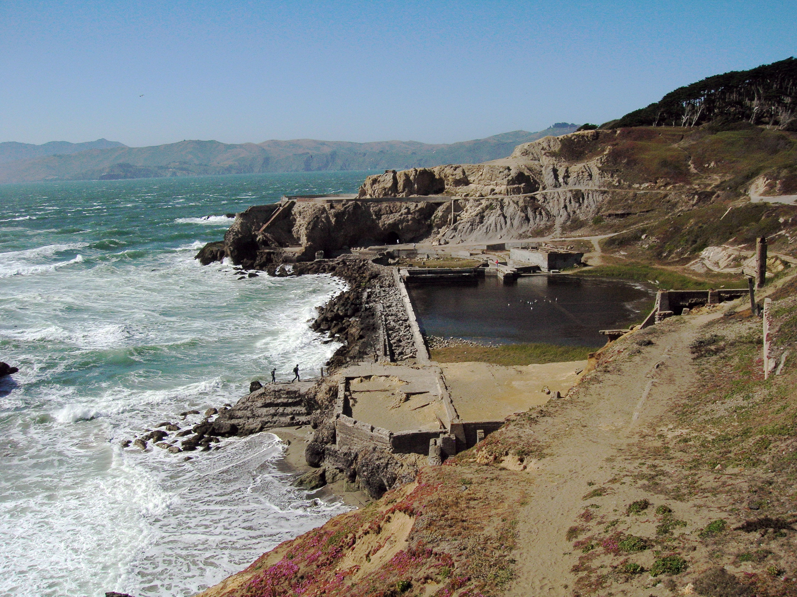 Present Day Ruins of the Sutro Baths