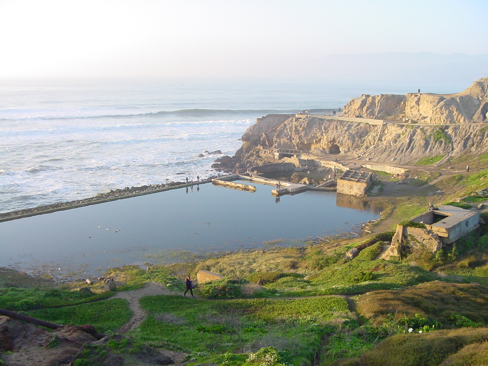 Present Day Ruins of the Sutra Baths