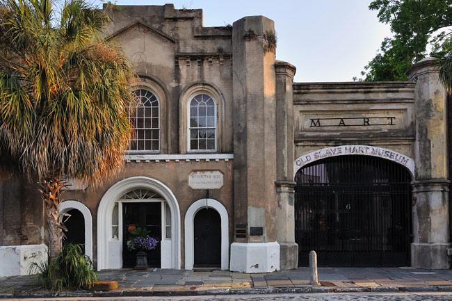 Charleston Slave Mart Exterior
