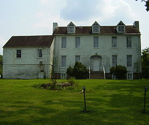 The Jenkins Plantation prior to renovations by the Corps of Engineers.