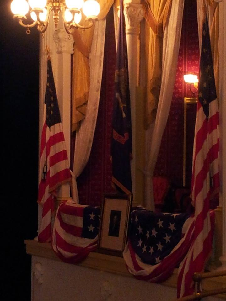 Presidential Box at Ford's Theatre. Photo Courtesy of Laura Maple