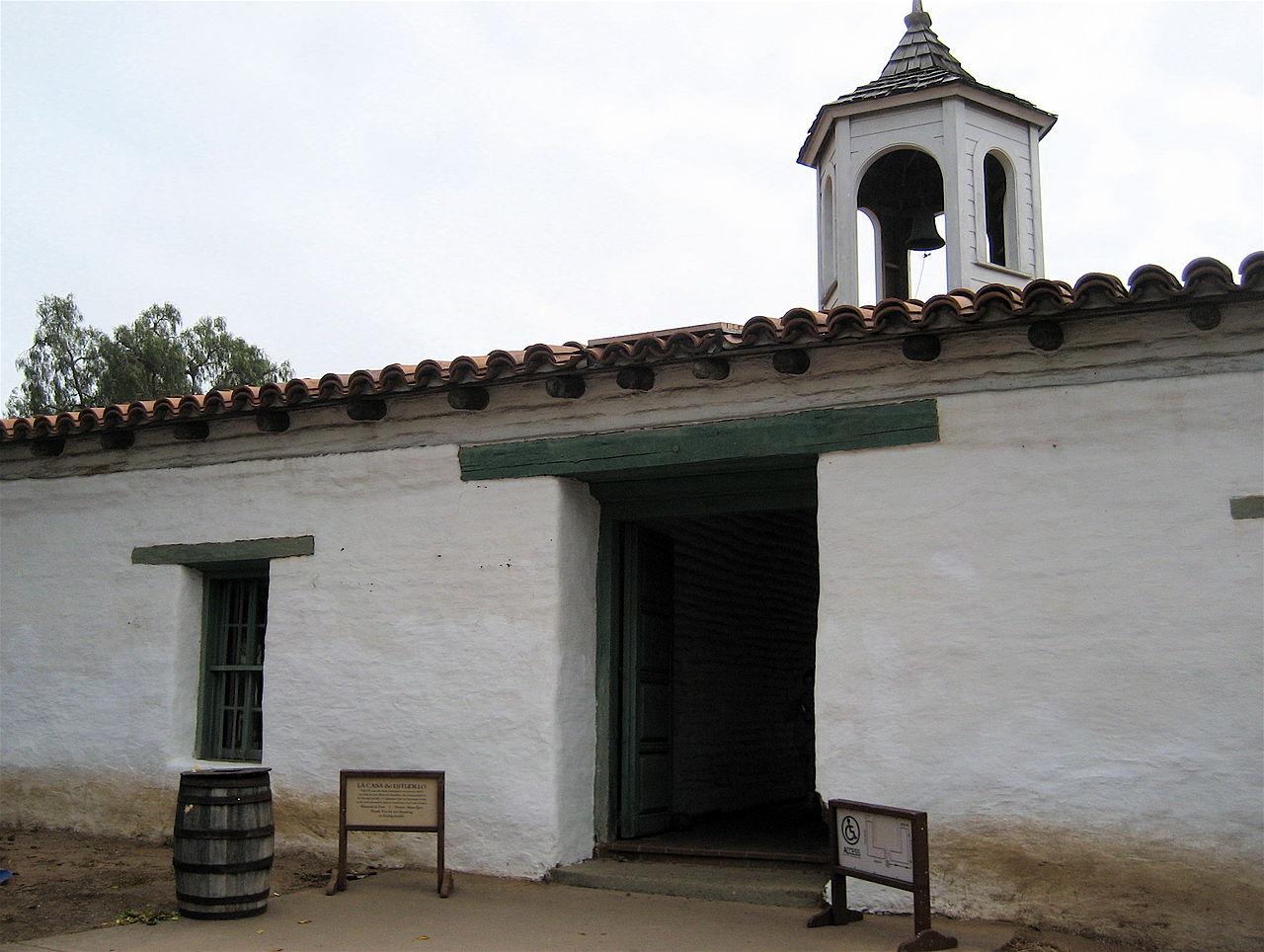 Entrance to La Casa de Estudillo