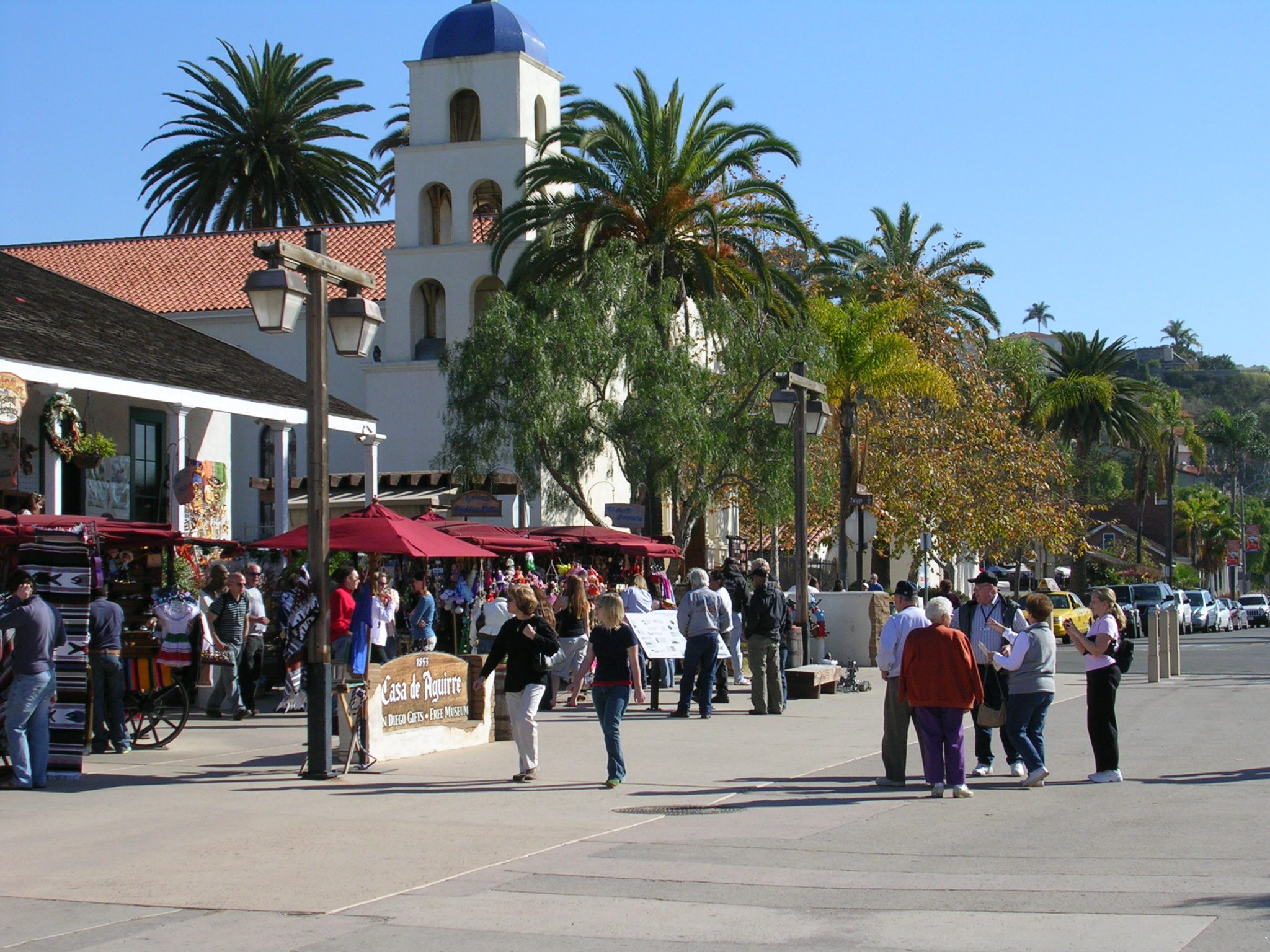 View of the plaza