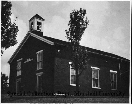 Church in 1970. Photo Courtesy of Marshall university Special Collections