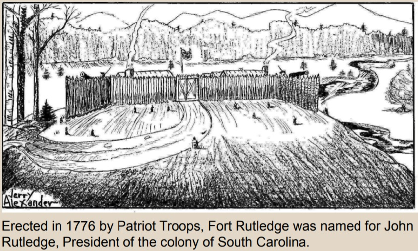 Sketch of Fort Rutledge