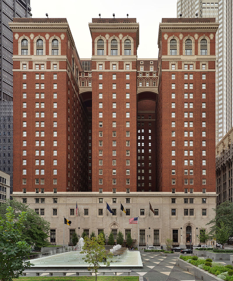Omni William Penn Hotel (Frontal View)