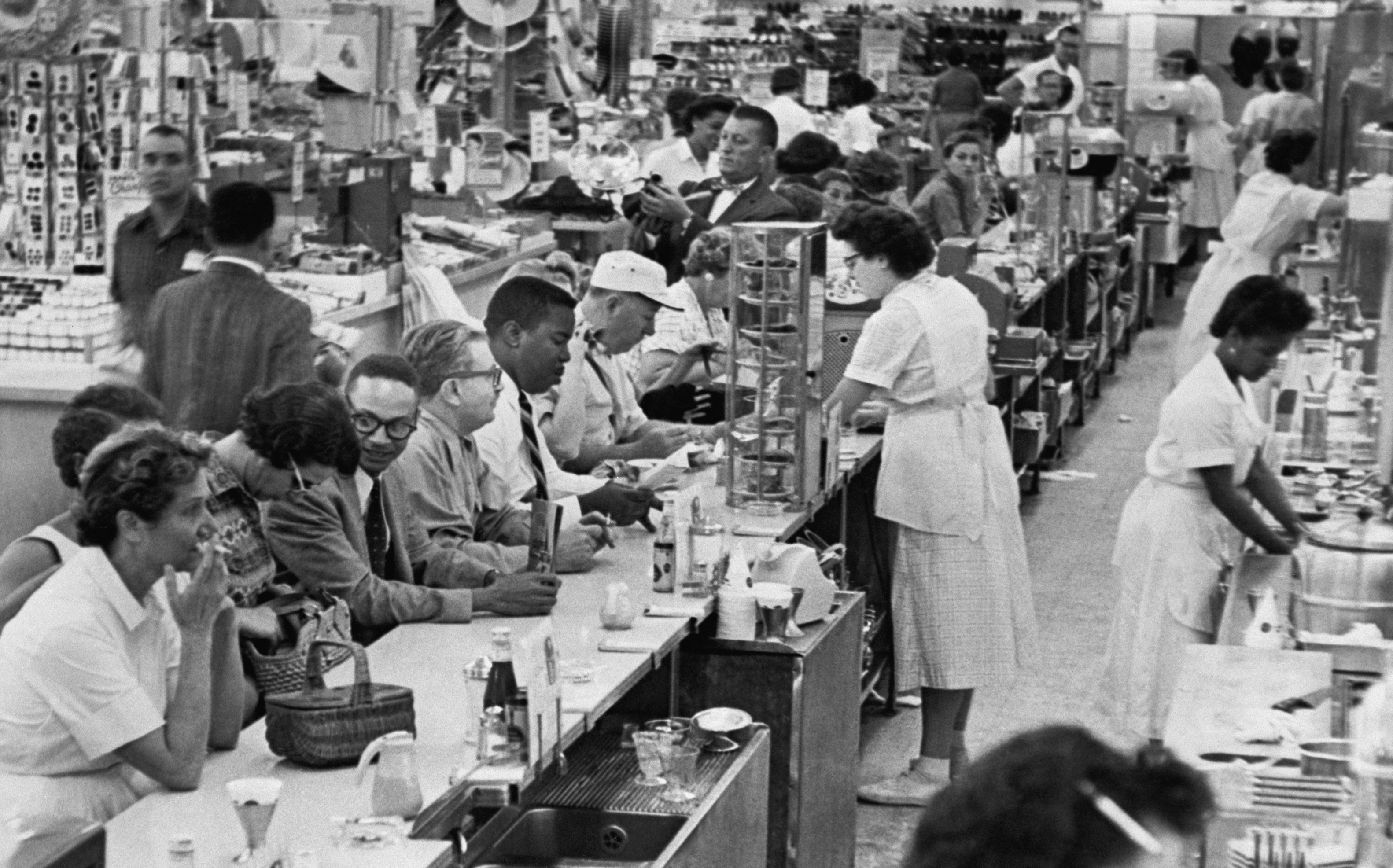 Waitresses refused to serve African Americans at a Miami store.