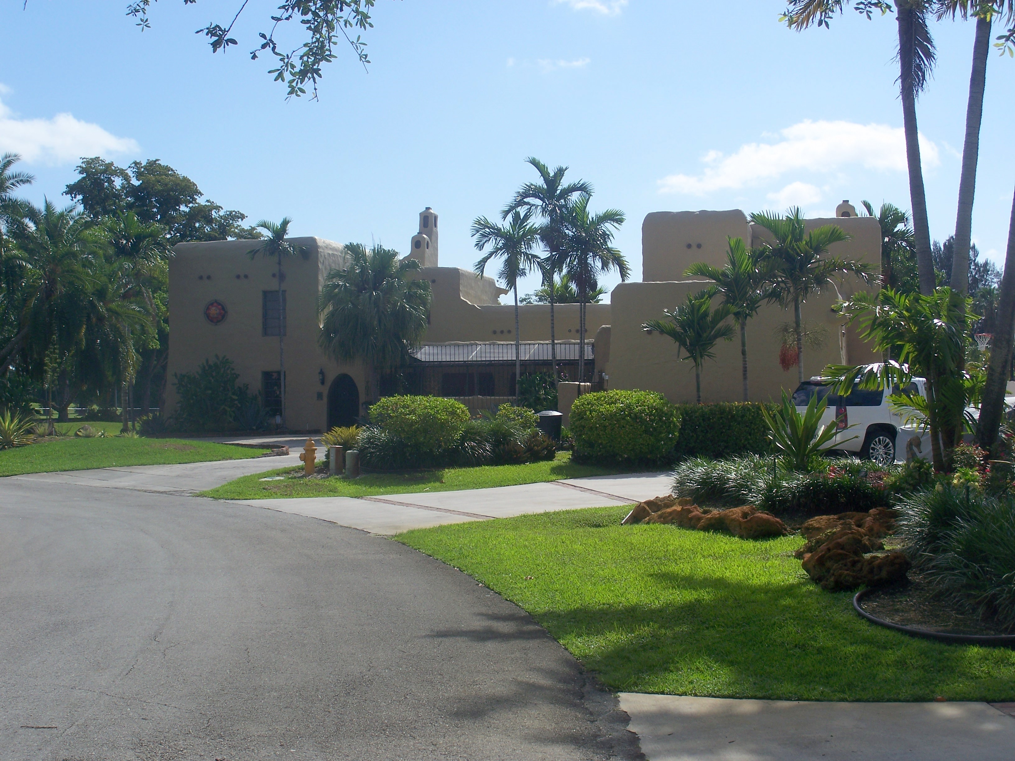 Exterior of G. Carl Adams House