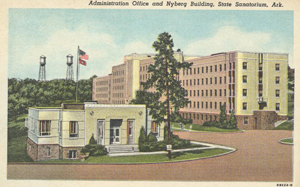 1940s postcard of the facility