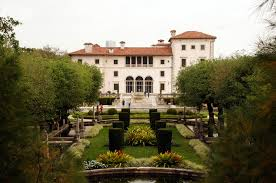 Another View of Vizcaya and its Gardens