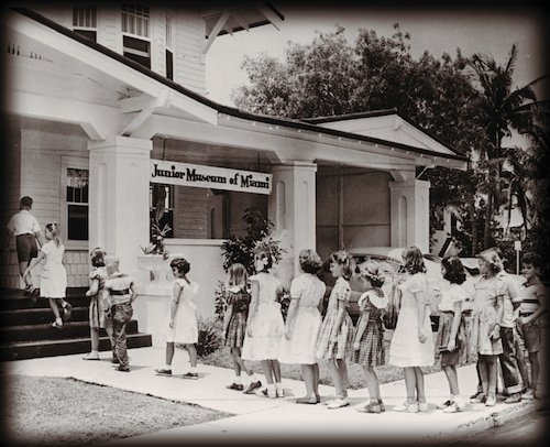 The precursor of the Frost Museum, the Junior Museum of Miami, in 1950.