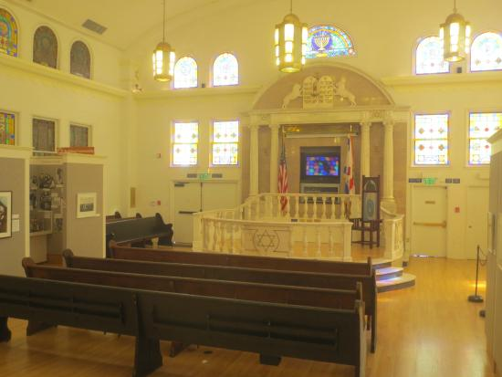 Synagogue Within the Jewish Museum of Florida