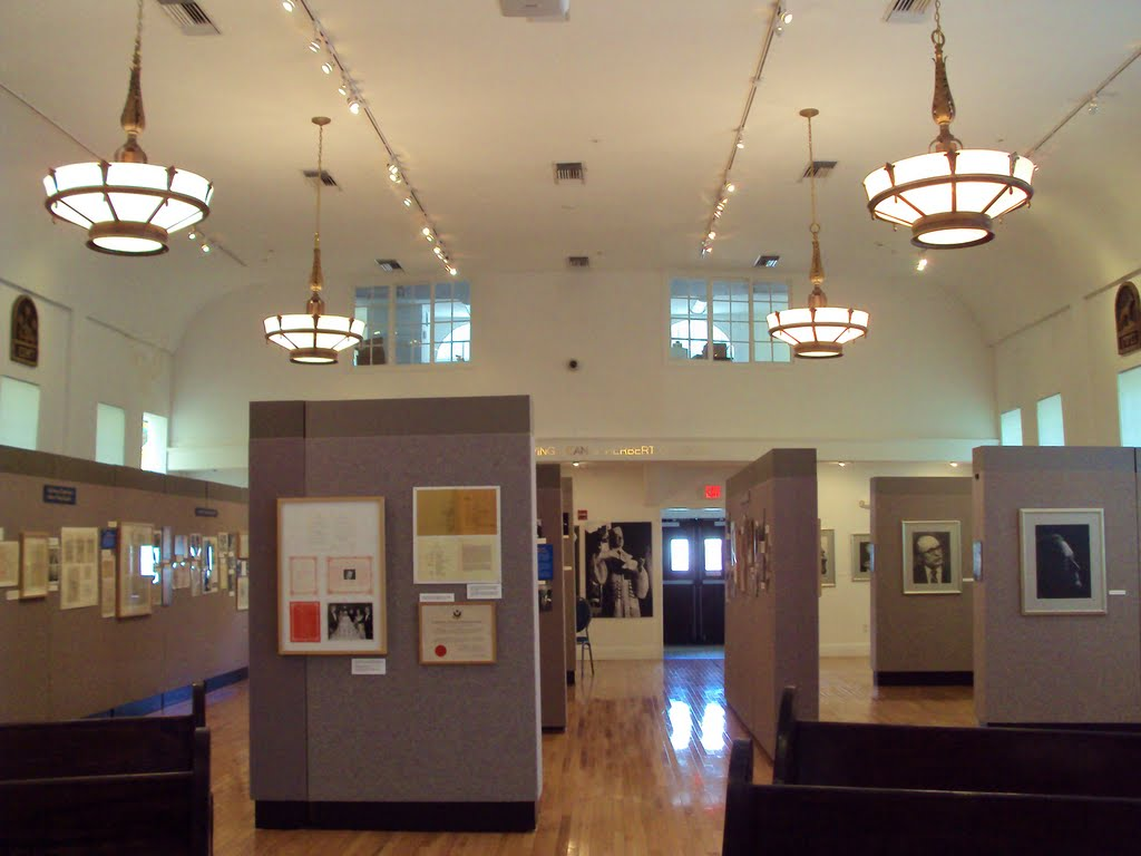 Interior of the Museum.